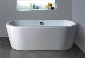 Baignoire Ilot Pas Cher : salle de bain baignoire ilot riana baignoire ilot ~ Premium-room.com Idées de Décoration