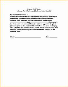 5 food disclaimer template financial statement form With disclaimer template uk