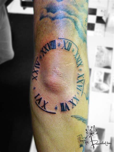 tattoo leander    special clock   elbow