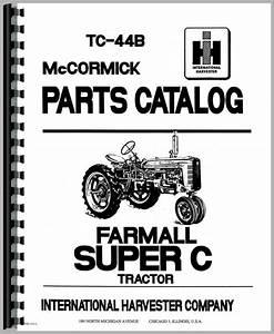 34 Farmall Super C Parts Diagram