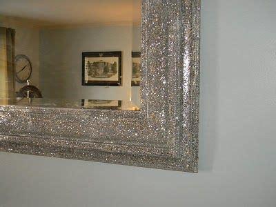 love  mirror  covered  glitter neat ideas