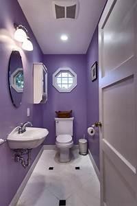 Beautiful, Purple, Bathroom, Ideas