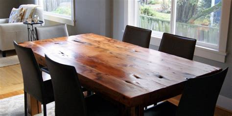 reclaimed wood dining table great home furniture