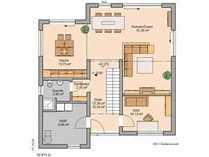 Haus Raumaufteilung Beispiele : h user kern haus erdgeschoss und grundrisse ~ Lizthompson.info Haus und Dekorationen