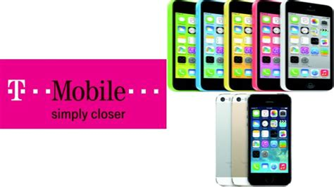 t mobile iphone 5s t mobile sets simple choice plan pricing for iphone 5c 5s