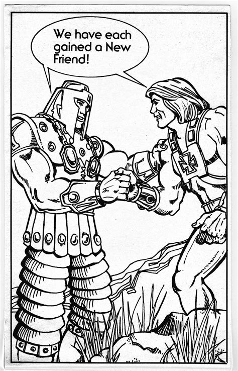 masters   universe character coloring book pages battlegrip