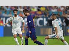 Horario y dónde ver el Barcelona vs Real Madrid de la ida