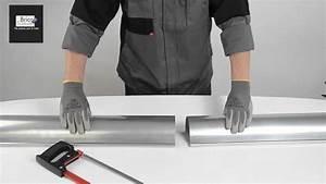 Réparer Une Gouttière En Zinc : d couper facilement une goutti re zinc demi ronde youtube ~ Premium-room.com Idées de Décoration