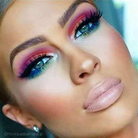 colorful makeup 25 best ideas about rainbow eye makeup on