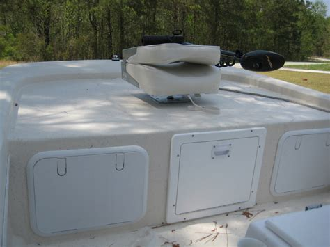 Fishing Boat Casting Deck by Custom Casting Deck For The Swan Point The Hull Truth