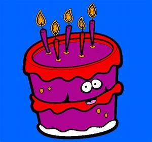 Dessin Gateau D Anniversaire : dessin g teau d 39 anniversaire 2 colori par titouan ~ Louise-bijoux.com Idées de Décoration
