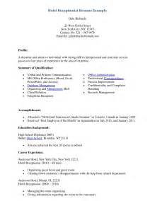 medical secretary resume student resume template