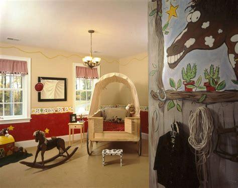 ambiance chambre une chambre cowboy pour un enfant