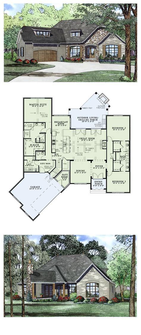 craftsman european house plan 82166 european house plans