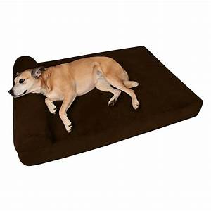 big barker quot pillow top orthopedic dog bed for large With big barker dog beds