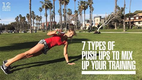 7 Types Of Push Ups To Mix Up Your Training Youtube