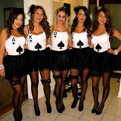 Have A Hot Ghoul Halloween With These Girlfriend Group Costumes Girl Group Halloween