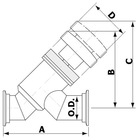 Angle Valve Diagram by Manual Angle Inline Valve Nw Flanged Apex Vacuum