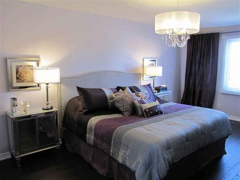 Grey And Purple Bedroom Photo Home Improvement Home Decor