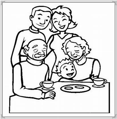 Coloring Dining Pages