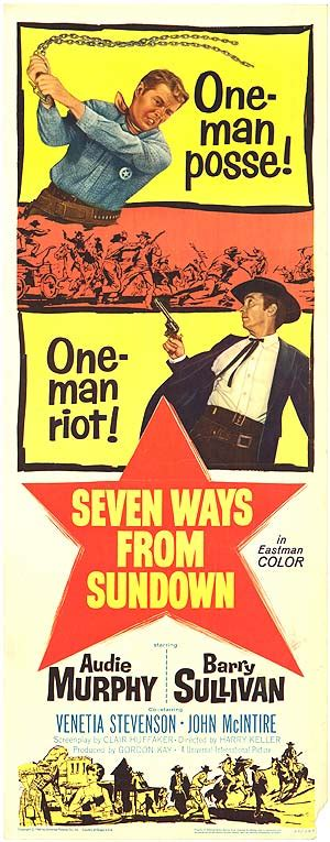 Seven Ways From Sundown Movie Posters At Movie Poster