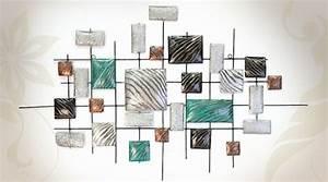 Decoration Murale Metal Design : la d coration murale moderne pour les murs tristes ~ Teatrodelosmanantiales.com Idées de Décoration