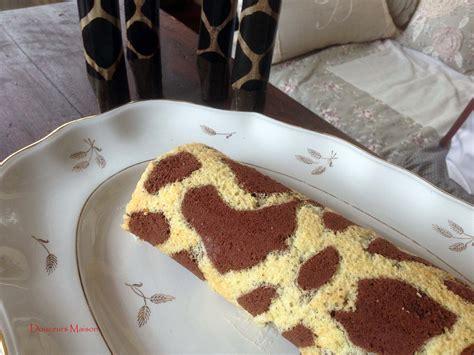 girafe cuisine roulé girafe blogs de cuisine