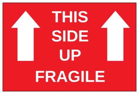 side  fragile label templates onlinelabelscom