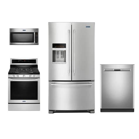 Maytag 4 Piece Kitchen Appliance Package With Gas Range