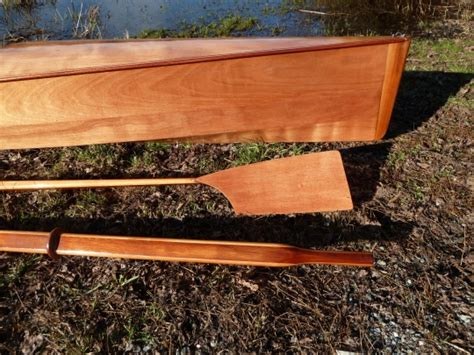wooden rowing oar plans woodenboat magazine