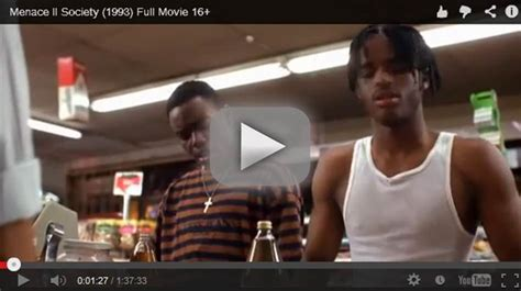 Menace To Society Meme - menace ii society 1993 click to watch full movie paid in full pinterest watches full