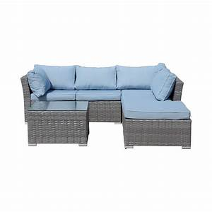 elegant jicaro 5 piece outdoor wicker sectional sofa set With jicaro 5 piece outdoor wicker sectional sofa set