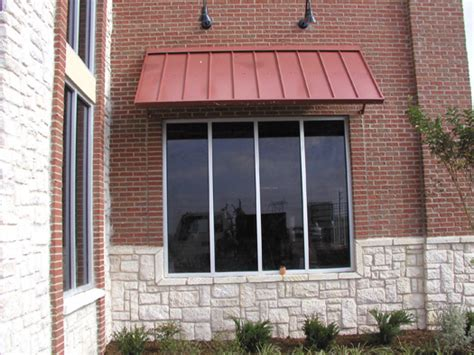 Awnings Dallas/fort Worth Commercial Metal