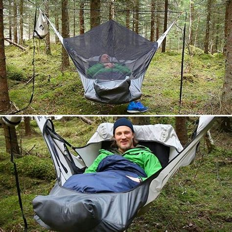 Sleeping Hammock by Cing Hammock With Bed That Let S You Lay