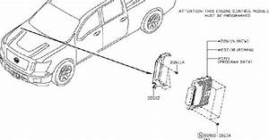 Nissan Titan Engine Coolant Temperature Sensor  System