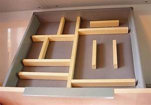 Schubladen Organizer Ordnungssysteme : diy adjustable kitchen drawer divider home organization ~ Michelbontemps.com Haus und Dekorationen