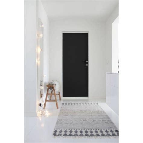 tapis house doctor block gris noir xcm