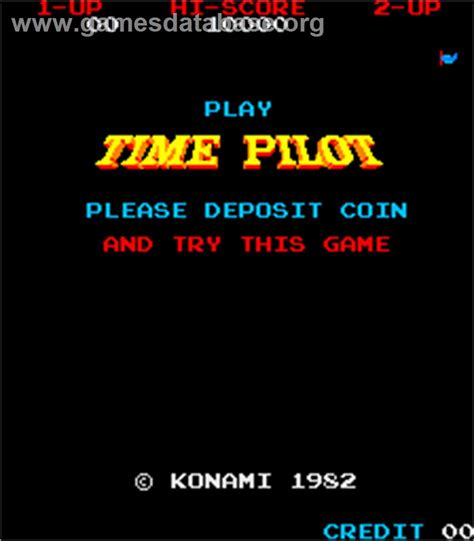 Time Pilot Arcade Games Database
