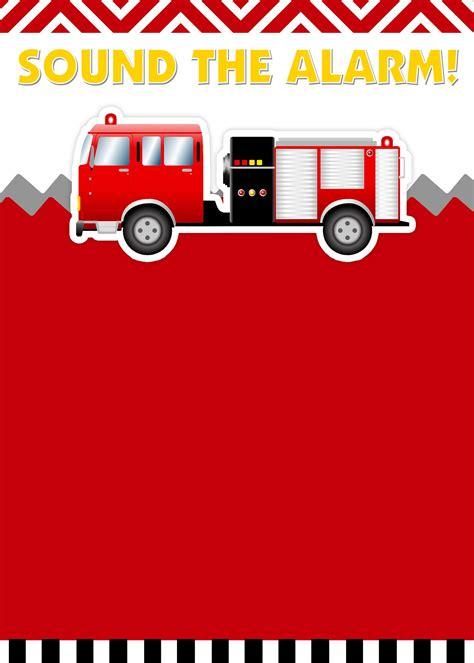fire truck birthday party   printables fireman