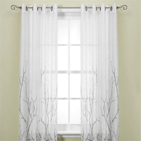 curtains from bed bath and beyond pretty spaces