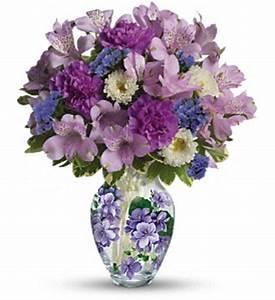 Teleflora's Sweet Violet Bouquet in El Cajon CA - Robin's ...