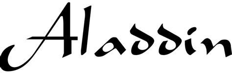 search results  aladdin urban fonts