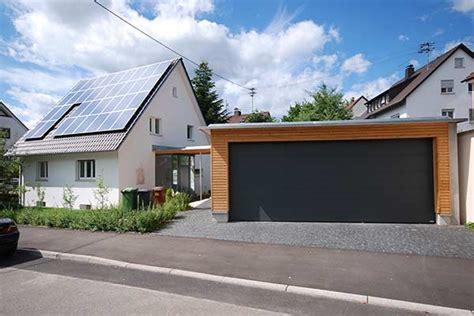 Anbau Garage by Sanierung Und Anbau Einer Garage Dangel Holzbau