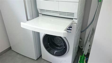 waschmaschine auf trockner regal regal waschmaschine trockner 220 bereinander conexionlasallista