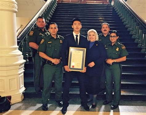 Facebook page opens in new window mail page opens in new window instagram page opens in new window Tinglin Wu Laredo Border Patrol Youth of the Year Is hosted at Texas Capitol | U.S. Customs and ...