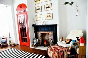 Englische Telefonzelle Deko : 12 coole kinderzimmer im englischen stil eingerichtet ~ Frokenaadalensverden.com Haus und Dekorationen