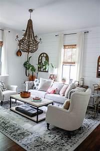 modern farmhouse living room home decor style swap With interior decor bloggers