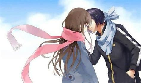 Noragami Yato X Hiyori Cute Anime Couple