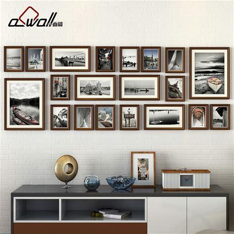 Bilderrahmen Collage Wand by Wood Photo Frames Collage Picture Frame Photo Frames Wall