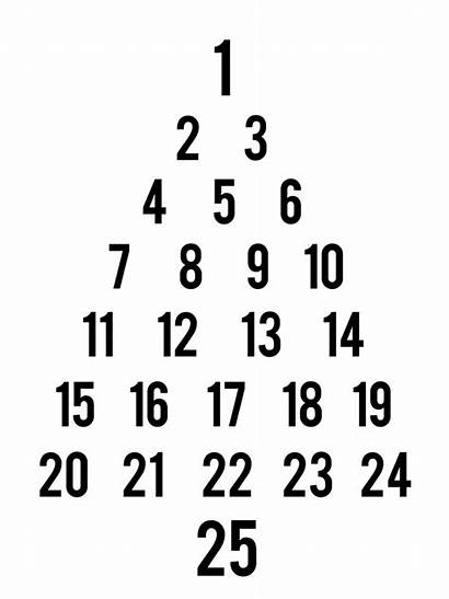 Advent Calendar Tree Christmas Countdown Cricut Wooden